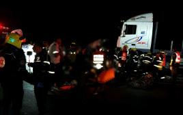 תאונה קטלנית בכביש 6