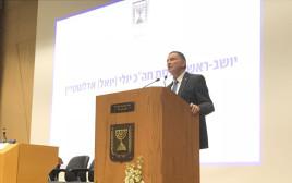 """יו""""ר הכנסת יולי אדלשטיין באירוע הענקת 'אות אבירי איכות השלטון'"""