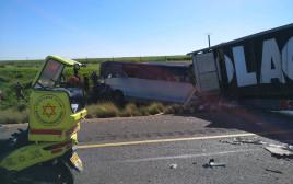 תאונה קשה בכביש 6
