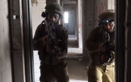 חיילי אוגדה 162 מתאמנים במתווה עזה