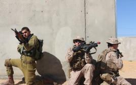 """תרגיל של צה""""ל וצבא ארה""""ב"""