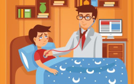 איור: רופא וילד