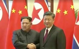 שי ג'ינפינג, קים ג'ונג און