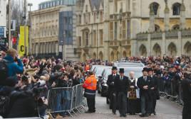 הלוויה של סטיבן הוקינג