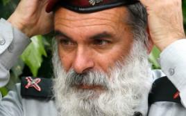 אביחי רונצקי בימיו כרב הצבאי הראשי