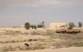 בסיס חיל האוויר שהופצץ