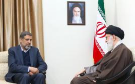 רמדאן שלאח בפגישה עם האייתוללה חמינאי