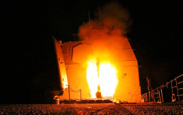 שיגור הטילים ששוגרו לעבר סוריה