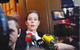 מזכירת האקדמיה השוודית, שרה דניוס