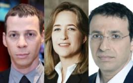 רביב דרוקר, אילנה דיין ועמית סגל