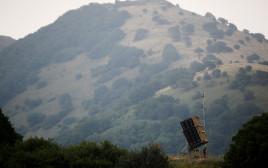 מערכת כיפת ברזל בגבול ישראל סוריה