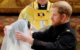 הנסיך הארי ומייגן מרקל בטקס החתונה