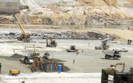 """העבודות על """"סכר התקומה"""" באתיופיה"""