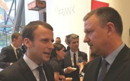 אראל מרגלית ונשיא צרפת מקרון