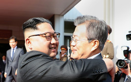 מון ג'יה אין, קים ג'ונג און