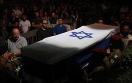 הלווייתו של סמל ראשון רונן לוברסקי