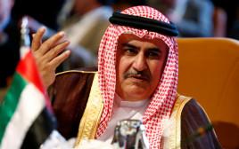 שר החוץ של בחריין, שייח' ח'אלד בן אחמד אל-חליפה