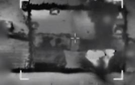 """הפצצת צה""""ל ברצועת עזה"""