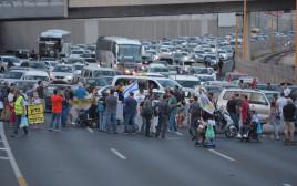 מחאת הנכים והקשישים בתל אביב