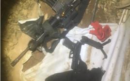 הנשק שנחטף מהחייל