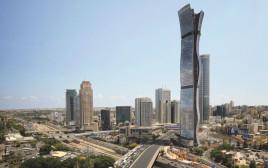 הדמיה של המגדל הגבוה בישראל