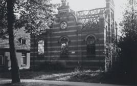 בית הכנסת בהולנד שנחרב