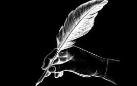 עט נוצה, אילוסטרציה