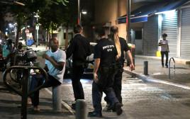 אנשי הסיירת לביטחון עירוני בתל אביב