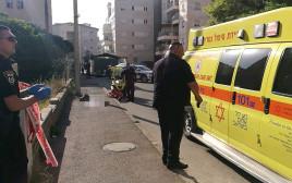 אירוע דקירה בחיפה