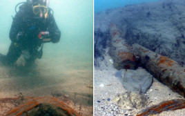 שרידי ספינה מהמאה ה-17