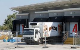 המשאית שבה אותרו גופות המהגרים