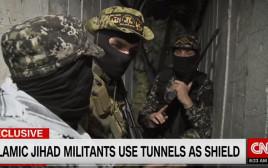מנהרת הטרור של הג'יהאד האסלאמי בעזה