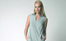גלית גוטמן עם שמלה של קרייזי ליין