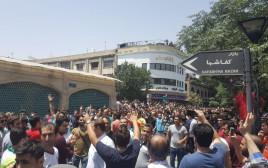 הפגנת הסוחרים בטהרן