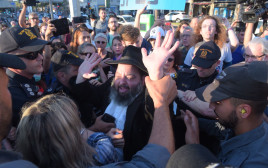 הפגנה מול כנס עם הפרדה מגדרית בתל אביב