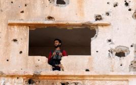 עמדת צבא סוריה החופשית בדרעא