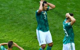 נבחרת גרמניה הודחה מהמונדיאל