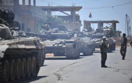 כוחות אסד בדרום סוריה