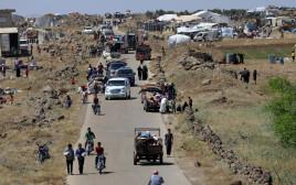 פליטים סורים בקוניטרה