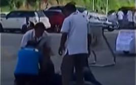 טיפול בראש העירייה, שניות לאחר הירי