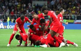 נבחרת אנגליה עולה לרבע גמר במונדיאל