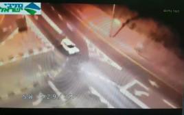 רעידת אדמה במצלמת אבטחה