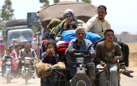 פליטים ממחוז דרעא