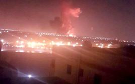 פיצוץ בשדה התעופה בקהיר