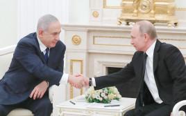 פוטין ונתניהו. ישראל נתפסת כגורם משפיע על הממשל האמריקאי