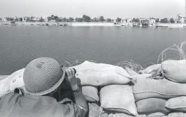 תצפיתן בתעלת סואץ, 1970, ארכיון