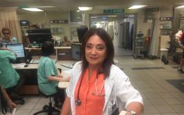 ד״ר הלר לאחר פציעתה
