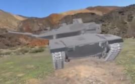 טנק מרכבה 4 ברק