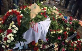 הלוויתו של סגן פז אליהו בקיבוץ עברון