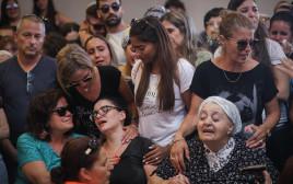 ההלוויה של יותם עובדיה שנרצח בפיגוע ביישוב אדם